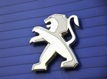 PEUGEOT Logo Stock Images