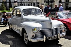 Peugeot 203 manufactured from 1948 to 1960 Royalty Free Stock Photography
