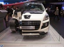 Peugeot-Mischling 4 stockbild