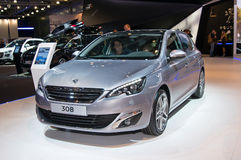 Peugeot 308 Royalty Free Stock Photos