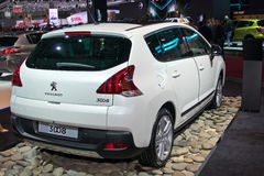 Peugeot 3008 Royalty Free Stock Photo