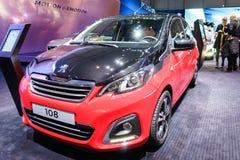 Peugeot 108, Motor Show Geneva 2015. Stock Images