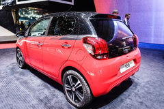 Peugeot 108, Motor Show Geneva 2015. Stock Photo