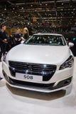 Peugeot 508, Motor Show Geneva 2015. Royalty Free Stock Photo