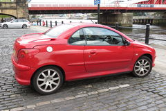 Peugeot 206 Royalty Free Stock Photo