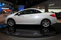 A Peugeot nova 307 centímetros cúbicos Imagem de Stock