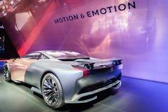 Peugeot onyks, Motorowy przedstawienie Geneve 201 zdjęcia royalty free