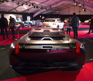 Peugeot Onyx πίσω άποψη. Στοκ φωτογραφία με δικαίωμα ελεύθερης χρήσης