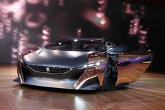 The Peugeot Onyx Concept Royalty Free Stock Images