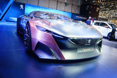 Peugeot Onyx, Motor Show Geneve 2015 Royalty Free Stock Photos