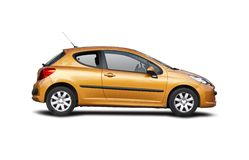 Peugeot 207 Stock Image