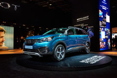 2017 Peugeot 5008 Stock Photography