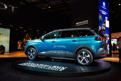 2017 Peugeot 5008 Royalty Free Stock Photography