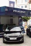 Peugeot prezentacja zdjęcie stock