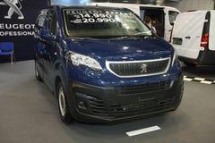 Peugeot przy Belgrade car show zdjęcie stock