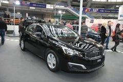 Peugeot przy Belgrade car show fotografia stock