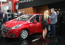 Peugeot przy Belgrade car show zdjęcia stock