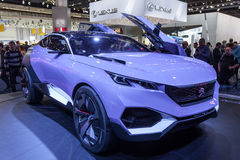 Peugeot QUARTZ Concept at the IAA 2015 Stock Image