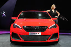 Peugeot 308R Concept Royalty Free Stock Photo