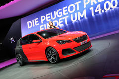 Peugeot 308R Concept Royalty Free Stock Image
