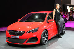 Peugeot 308R Concept Stock Photos