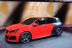 Peugeot 308 R Concept Royalty Free Stock Photos