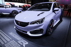 Peugeot 308 R Hybrid at the IAA 2015 Royalty Free Stock Photo