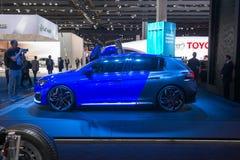 Peugeot 308R Hybrid - world premiere. Royalty Free Stock Image