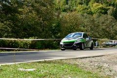 Peugeot 208 R2 nastrajania wiecu samochód obraz royalty free