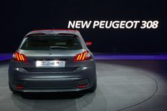 Peugeot 308R samochód Zdjęcie Stock