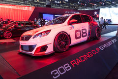 Peugeot 308 Racing Cup at the IAA 2015 Stock Photo