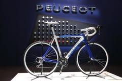 Peugeot Racing cykel Fotografering för Bildbyråer