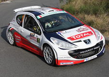 Peugeot 207 racing Royalty Free Stock Photo