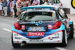 Peugeot Rally car Royalty Free Stock Photography