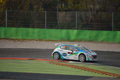 Peugeot 208 rally car at Monza Stock Photography