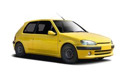 Peugeot 106 Rallye Stock Photo