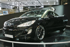 Peugeot RCZ. At the Moscow International Automobile Salon (MIAS-2010) August 25 - September 5 Royalty Free Stock Images