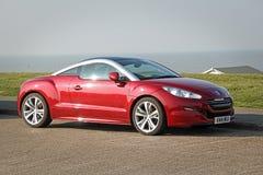 Peugeot rcz coupe στοκ εικόνες