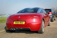 Peugeot rcz coupe Stock Photography