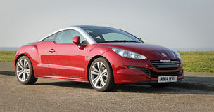 Peugeot rcz coupe Royalty Free Stock Images