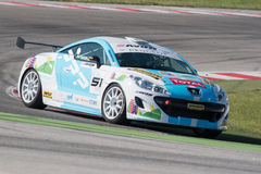 PEUGEOT RCZ CUP RACE CAR Stock Image