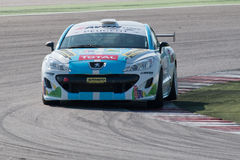 PEUGEOT RCZ CUP RACE CAR Royalty Free Stock Images