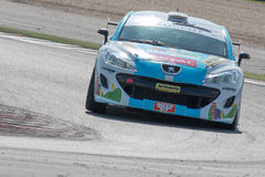 PEUGEOT RCZ CUP RACE CAR. MISANO ADRIATICO, Rimini, ITALY - May 10:  A PEUGEOT RCZ CUP Royalty Free Stock Images