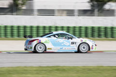 PEUGEOT RCZ CUP RACE CAR Royalty Free Stock Images