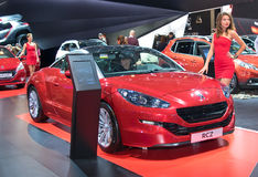 Peugeot RCZ Stock Photography