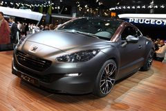 The Peugeot RCZ R Concept Stock Photo