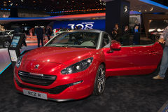 Peugeot RCZ R - world premiere Royalty Free Stock Photos