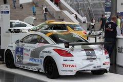 Peugeot RCZ sports car Stock Image