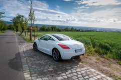 Peugeot RCZ THP 200 hp Stock Photography