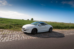 Peugeot RCZ THP 200 hp Royalty Free Stock Photography